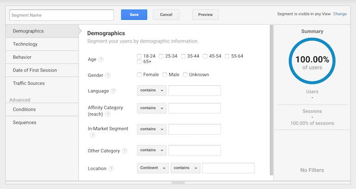 segment indexare google